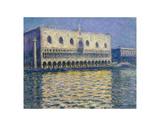 The Doges Palace, 1908 Posters af Claude Monet