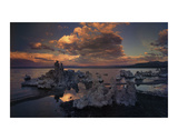 Tufas in Mono Lake, California Art by Art Wolfe