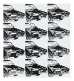 Twelve Cars, 1962 Posters af Andy Warhol