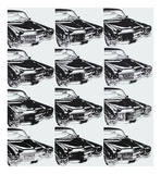 Andy Warhol - Twelve Cars, 1962 Plakát