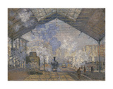 The Saint-Lazare Station, 1877 Prints by Claude Monet