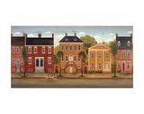 Town Houses II Prints by Diane Ulmer Pedersen