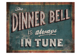 The Dinner Bell Poster by Luke Stockdale