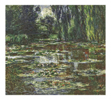 The Bridge Over the Water Lily Pond, 1905 Poster by Claude Monet