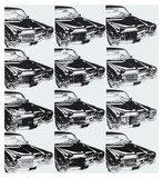 Twelve Cars, 1962 Prints by Andy Warhol