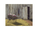 The Flower Cart Plakater af Kathleen Green