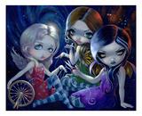 The Three Fates Reproducción por Jasmine Becket-Griffith