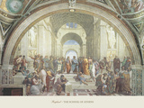 The School of Athens Poster by  Raphael