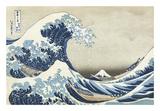 The Great Wave at Kanagawa Posters by Katsushika Hokusai