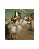 The Dance Class, 1874 Art by Edgar Degas