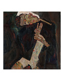 The Lyricist Posters by Egon Schiele