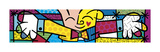 The Hug Art by Romero Britto
