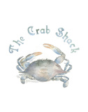 The Crab Shack Posters by Victoria Lowe