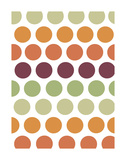 Terracotta Spots Poster by Denise Duplock