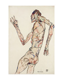 The Dancer Print by Egon Schiele