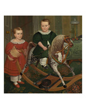 The Hobby Horse, ca. 1840 Prints by Robert Peckham