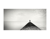The Man and the Sea, Study 13 Prints by Marcin Stawiarz