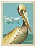 The Pelican Seaside Pub Poster autor Anderson Design Group