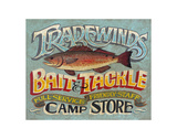 Tradewinds Bait & Tackle Posters by  Zeke's Antique Signs