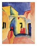 The Casbah Posters by August Macke