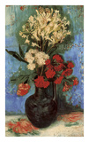 Vase with Carnations and Other Flowers, 1886 Prints by Vincent van Gogh