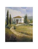 Tuscany Afternoon Affiche par Carolyne Hawley
