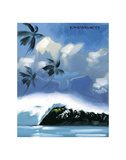 Tropical Moment Print by Wade Koniakowsky