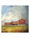 Vermont Red Barn Prints by Dawne Polis