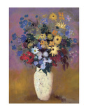 Vase of Flowers, 1914 Posters af Odilon Redon