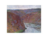 Valley of the Creuse (Gray Day), 1889 Prints by Claude Monet