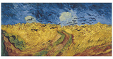 Wheatfield with Crows, 1890 Print by Vincent van Gogh