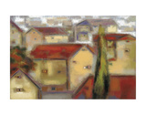 Village View Art by Eric Balint