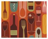 Jenn Ski - Wine & Dine Obrazy