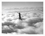 Walk in the Clouds Prints by  Urban Cricket