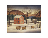 Winter Sheep II Posters by Diane Ulmer Pedersen