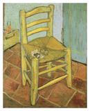 Vincents Stuhl mit Pfeife Kunstdrucke von Vincent van Gogh