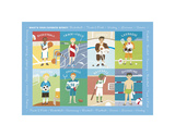 What's Your Favorite Sport Print by Janell Genovese