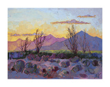 Violet Point Prints by Erin Hanson