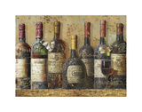 Wine Collection I Prints by  NBL Studio