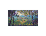 Vineyard View Prints by Erin Hanson