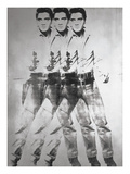 Triple Elvis®, 1963 Art by Andy Warhol