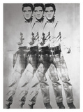 Triple Elvis®, 1963 Giclee Print by Andy Warhol