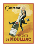 Vicomte de Moulliac Prints by  Vintage Posters