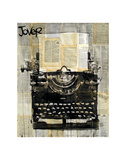 Typewriter Posters by Marion Mcconaghie