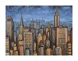 Twilight Skyline Prints