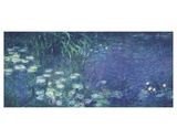 Water Lilies: Morning Poster di Claude Monet