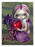 Valentine Dragon Lámina por Jasmine Becket-Griffith