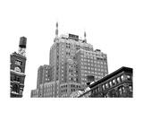 Tribeca, NYC (b/w) Posters af Erin Clark