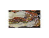 Water Serpents II, 1907 Plakater af Gustav Klimt