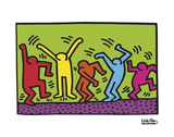 Untitled, 1987 (dance) Affischer av Keith Haring